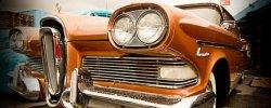 Ретро Автомобили Выставка